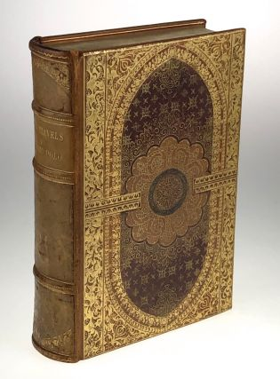 Binding, Fine- Venetian Style Binding] The Travels of Marco Polo. John Masefield, intr