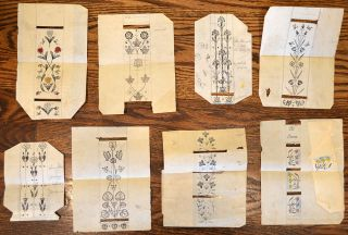 Riviere & Son- Bookbinding} A Collection of Designs, Drawings, Rubbings and Miscellaneous...