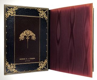 Binding, Fine- Albert Oldach Presentation Binding] The Life and Adventures of Martin Chuzzlewit....