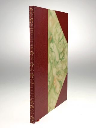 Roycroft Press-50 Copies Only on 3/4 Levant, Hand-Illumined] The Story of a Passion. Irving...
