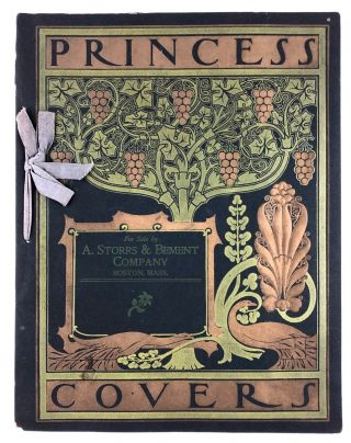Bradley, Will- Stunning Storrs Paper Sample Booklet] Princess Covers. Will Bradley