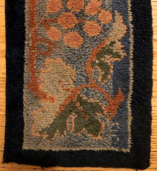 [Morris & Company- Long Woven Kneeler] Exquisite Detailed and Colorful Merton Abbey Woven Kneeler, ca. 1880's