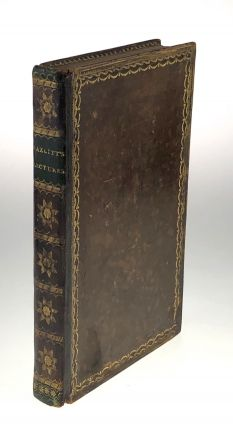 Hazlitt, William] Lectures Chiefly on the Dramatic Literature of the Age of Elizabeth. William...