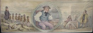 Fore-Edge Painting- Martin Frost] Dombey and Son. Charles Dickens