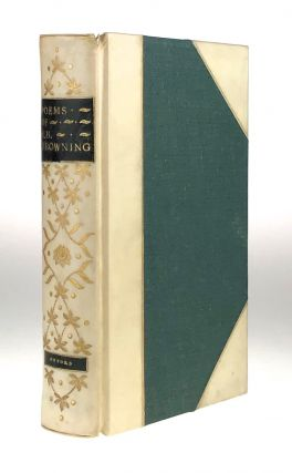 [Fore-Edge Painting]- Martin Frost] Poems of E. B. Browning