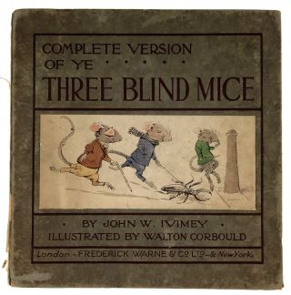 Children's] Three Blind Mice
