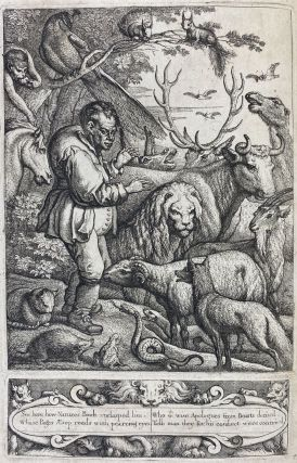 Aesop's Fables] Aesop's Fables with his Life: in English, French & Latin. The English by Tho....