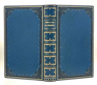 Binding, Fine- Author's Copy, with Correction] English Sonnets. By Poets of the Past. Samuel...