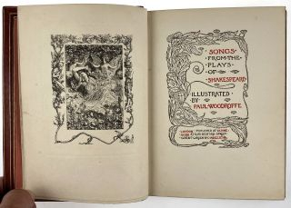 [Binding, Fine- Unsigned, Possibly Cedric Chivers ] Songs From the Plays of Shakespeare