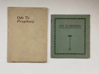 Violet Oakley Interest- Two Booklets and ALS] Ode to Prophesy [together with] Ode Morning. Hiram...