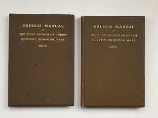 Violet Oakley Interest- Inscribed by Oakley to Edith Emerson- Two Books] Church Manual of the...