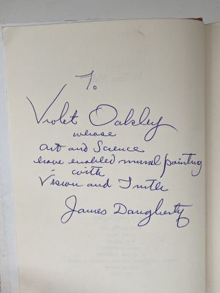 Violet Oakley Interest- Inscribed by Author to Oakley] William Blake. James Daugherty