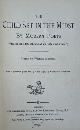 [Leadenhall Pres] The Child Set in the Midst, by Modern Poets