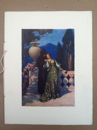 Private Booklet: Florentine Episode Pantomine. Jessie Willcox Smith