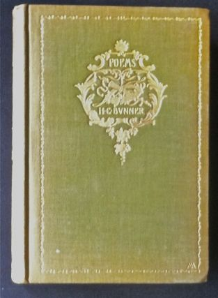 The Poems of the H. C. Bunner. H. C. Bunner