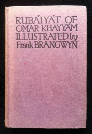 The Rubaiyat of Omar Khayyam. Edward Fitzgerald