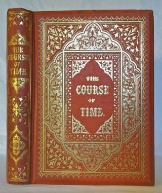 [BINDING, VICTORIAN] The Course of Time, A Poem