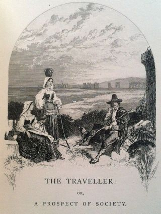 [Foster, Birket] The Traveller: A Poem