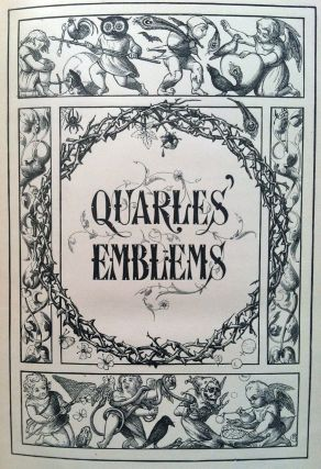[BINDING, VICTORIAN] Quarles' Emblems