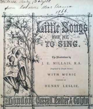 Little Songs for Me to Sing