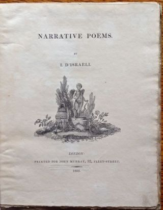 Narrative Poems. Isaac D'Israeii.